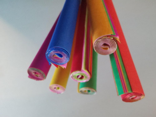 Bibuła gładka w rolce A3 10 kolorów